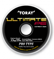 Toray Ultimate PE плетеная леска
